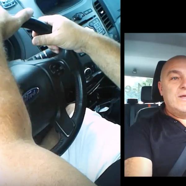 Manipulation du volant